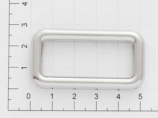 Рамка 5*20*40мм цв.никель(в упак.500шт)