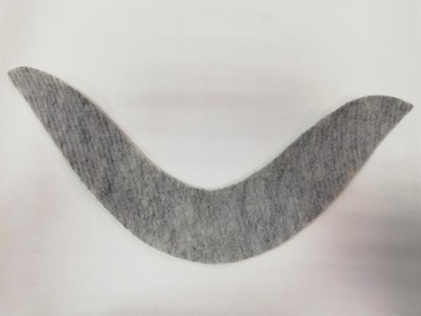 Подокатник №23 цв.серый(в упак.100пар)