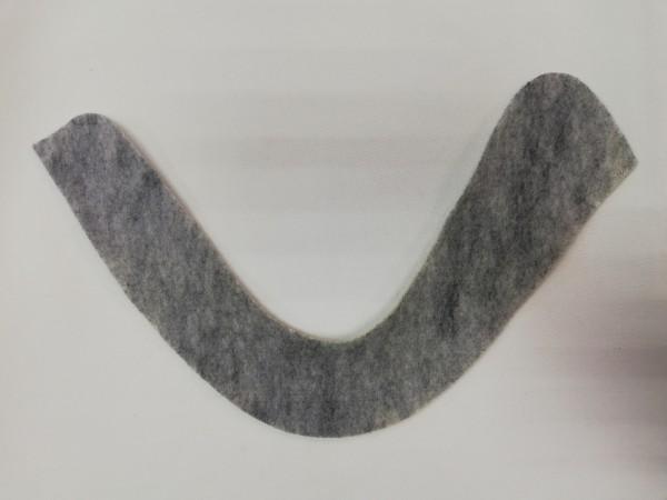 Подокатник №2 цв.серый(в упак.100пар)