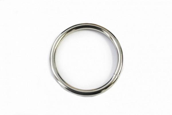 160 Кольцо 2,5*25мм цв.никель