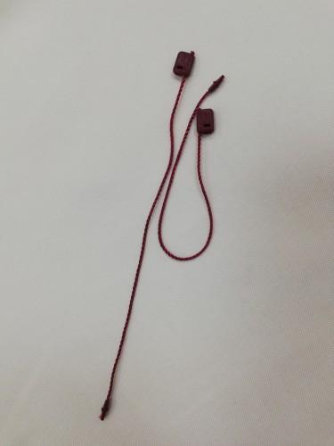 Микропломба 15см цв.бордовый(в упак.1000шт)