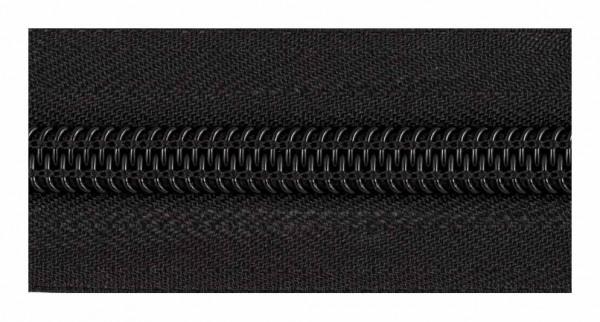 322 Молния спираль Т10 рулонная цв.черный(в рул.100м)