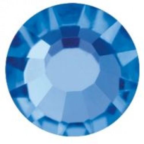 Стразы SS16 4мм Е08 Sapphire(в упак.200гросс)