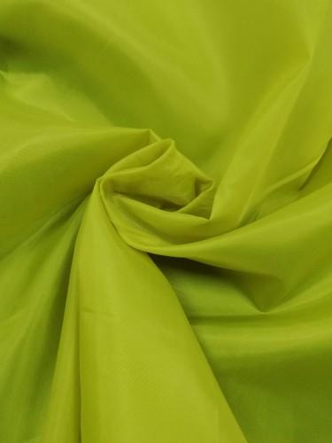 1025(19-0921) Ткань подкладочная 190Т 100%ПЭ цв.желтый(в рул.100м)