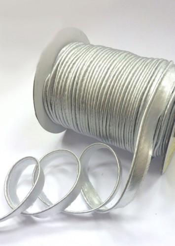 Silver Кант атласный цв.серебряный(в рул.72 Yds)