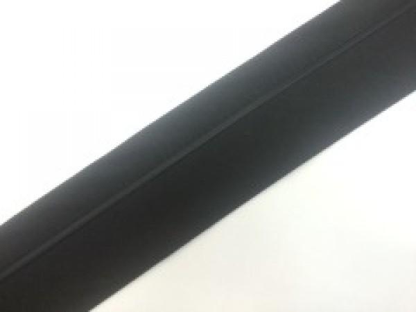 №12 Корсажная лента цв.черный с черным кантом(в рул.70м)