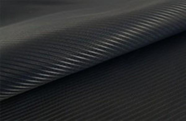 Ткань подкладочная полосатая 210Т 100%ПЭ 150см цв.черный(в рул.100м)
