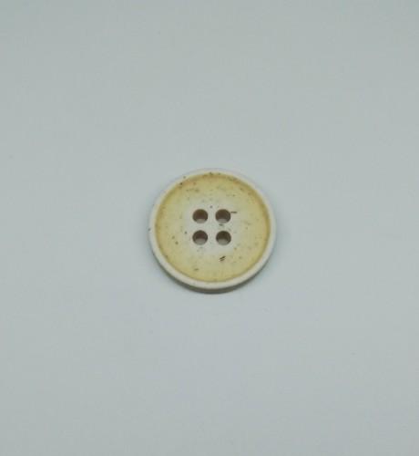 1413 Пуговица №24 15мм цв.мат.белый(в упак.2000шт)