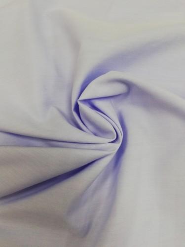 113G1766 Ткань хлопок дакрон однотонный 60%хлопок 40%полиэстер 150см цв.голубой(в рул.110)