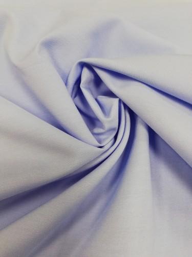 113G1107 Ткань хлопок дакрон однотонный 60%хлопок 40%полиэстер 150см цв.голубой(в рул.110)