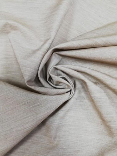 110-1389 Ткань хлопок дакрон однотонный 60%хлопок 40%полиэстер 150см цв.кофе(в рул.100м)