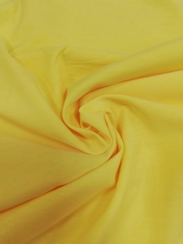 111-14328 Ткань хлопок дакрон однотонный 60%хлопок 40%полиэстер 150см цв.желтый(в рул.100 м)
