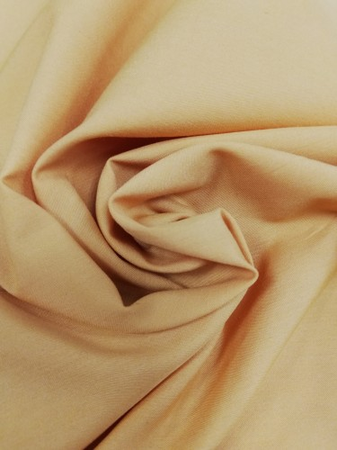 116-8052 Ткань хлопок дакрон однотонный 60%хлопок 40%полиэстер 150см цв.горчица(в рул.100м)