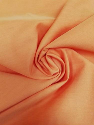 113G2329 Ткань хлопок дакрон однотонный 60%хлопок 40%полиэстер 150см цв.оранжевый(в рул.110)
