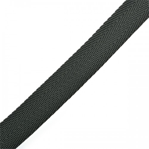 312 Стропа текстильная 25мм цв.т.серый(в рул.100м)