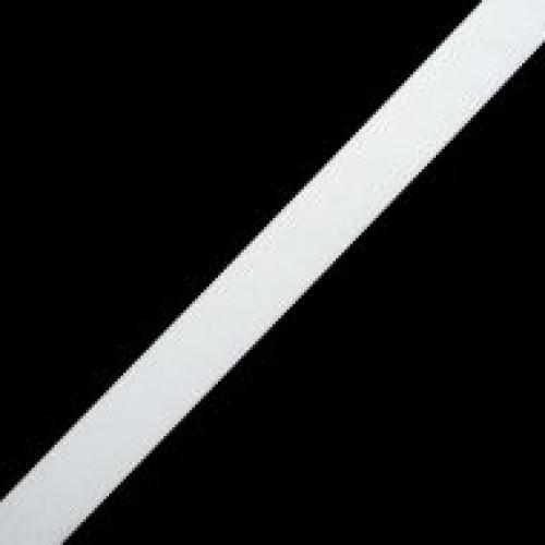 Резинка вязаная стандартная 025мм цв.белый(в рул.25м)