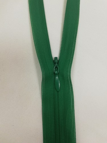 258 Молния потайная Т3 50см цв.зеленый(в упак.100шт)