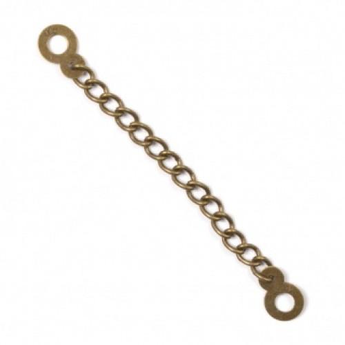 Вешалка-цепочка стандартная цв.золото(в упак.1000шт)