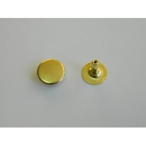 Хольнитен стальной 12*12мм цв.золото(в упак.2000шт)