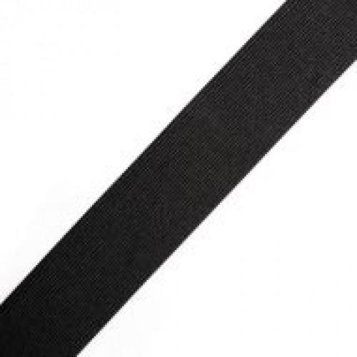 Резинка вязаная стандартная 045мм цв.черный(в рул.25м)