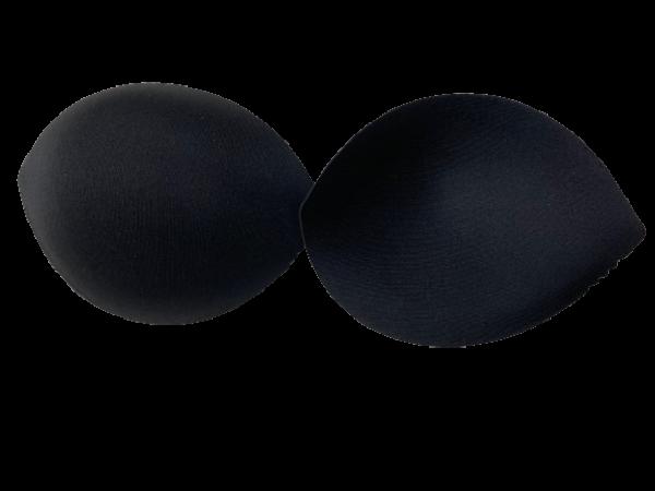 146Y Чашки корсетные №1 S цв.черный(в упак.30пар)