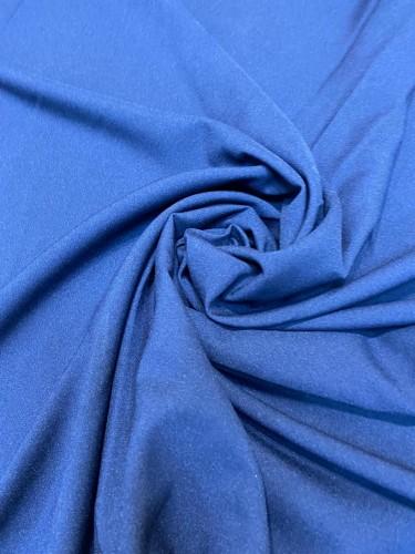 Габардин 230г/м 100%ПЭ цв.т.синий(в рул.50м)