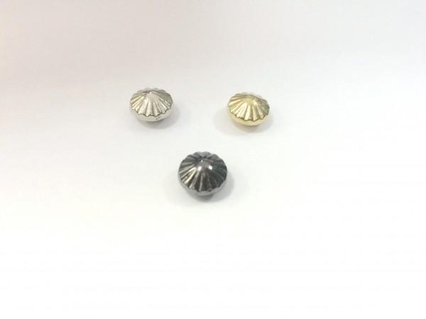 11178RR Шипы металлические на гвоздике 9мм цв.никель