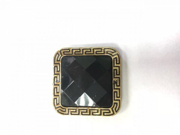K01 Стразы декоративные пришивные Gold P-7(в упак.50шт)
