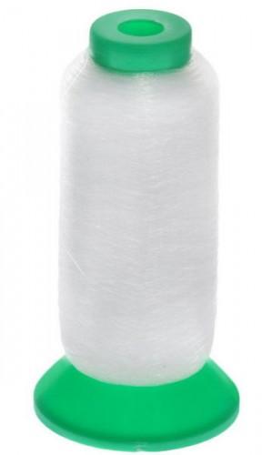 Мононить MF-03 0,12мм 100% ПЭ 5000yds цв.белый(в упак.12бобин)