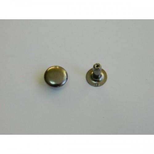Хольнитен двухсторонний стальной 9*9мм цв.ч.никель(в упак.2000шт)