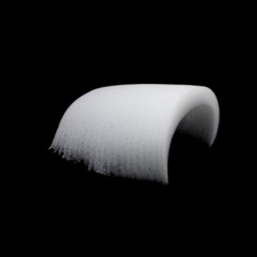 Плечевые накладки Вн-16 не обшитые цв.белый(в упак.240пар)