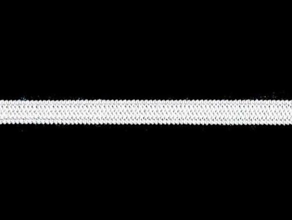 Резинка вязаная стандартная 006мм цв.белый(в рул.100м)