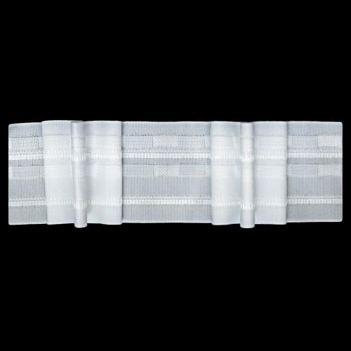 Шторная тесьма №060 uclu 60мм цв.белый(в рул.50м)