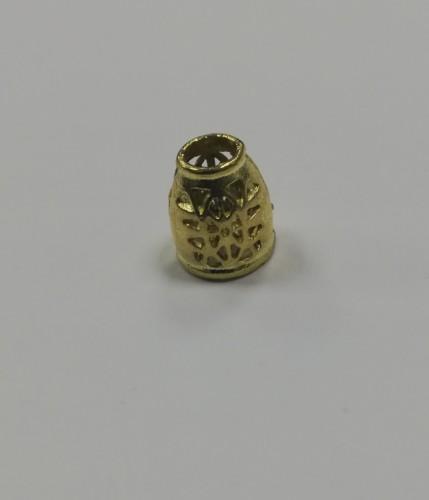 10 Концевик металлический декоративный цв.золото(в упак.1000шт)