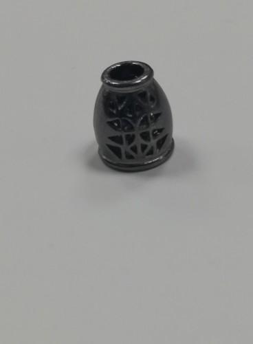 10 Концевик металлический декоративный цв.ч.никель(в упак.1000шт)