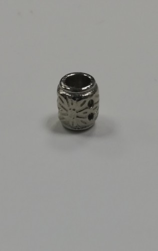 15 Концевик металлический декоративный цв.никель(в упак.1000шт)