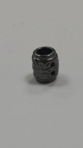 15 Концевик металлический декоративный цв.ч.никель(в упак.1000шт)