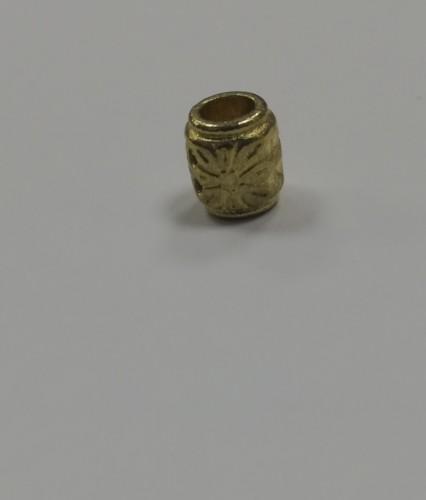 15 Концевик металлический декоративный цв.золото(в упак.1000шт)