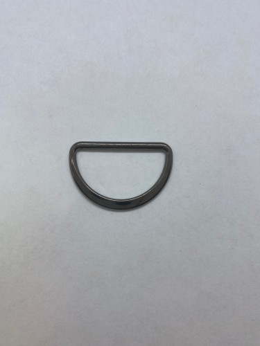1670X Полукольцо литое плоское 30мм цв.ч.никель(в упак.500шт)