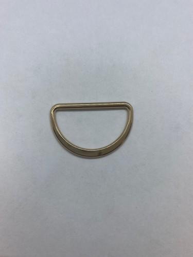1670X Полукольцо литое плоское 30мм цв.золото(в упак.979шт)