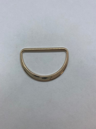 1672X Полукольцо литое плоское 40мм цв.золото(в упак.200шт)