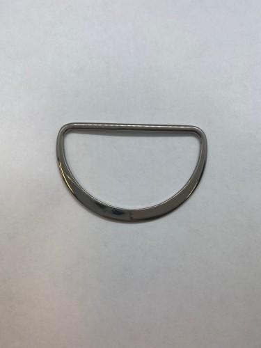 3119 Полукольцо литое плоское 60мм цв.ч.никель(в упак.200шт)