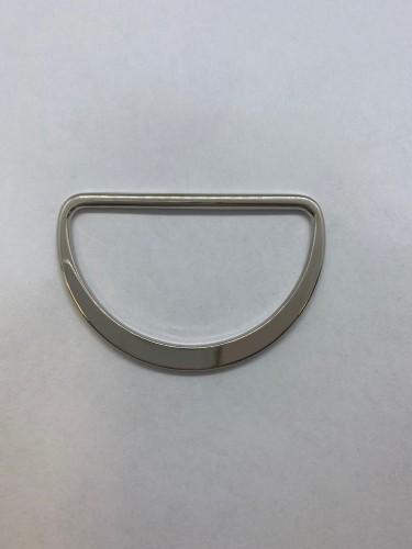 10752 Полукольцо литое плоское 55мм цв.никель(в упак.200шт)