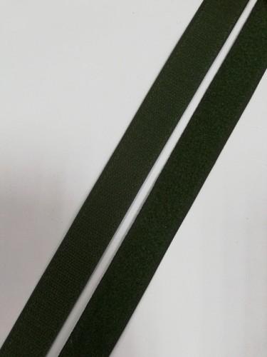 Липучка 025мм цв.зеленый(в рул.25м)