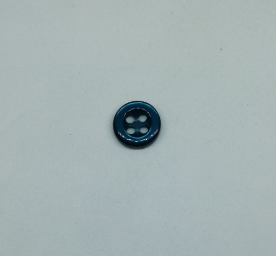 4014 Пуговица сорочечная №16 10мм цв.221 бирюзовый(в упак.2000шт)