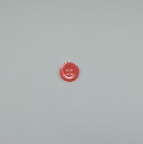 4014 Пуговица сорочечная №16 10мм цв.819 коралловый(в упак.1000шт)