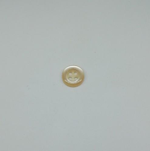 4014 Пуговица сорочечная №16 10мм цв.306 молочный(в упак.1000шт)