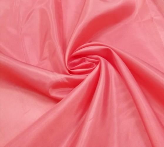 1057(18-1649) Ткань подкладочная 190Т 100%ПЭ цв.коралловый(в рул.100м)