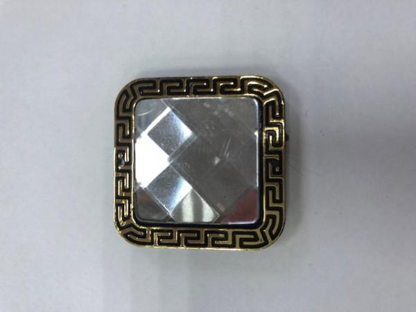 K01 Стразы декоративные пришивные Gold Crystal(в упак.50шт)