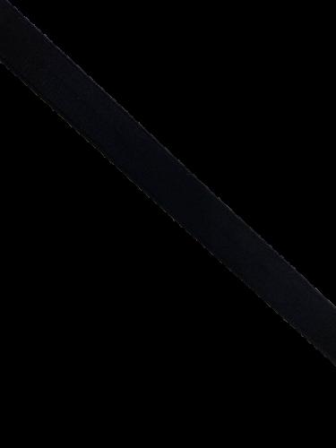 0001ASM Бельевая резинка 20мм цв.черный(в рул.100м)